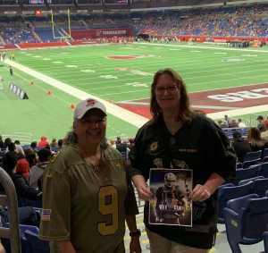Tammy attended San Antonio Commanders vs. Salt Lake Stallions - AAF on Mar 23rd 2019 via VetTix