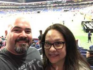 Jake attended San Antonio Commanders vs. Salt Lake Stallions - AAF on Mar 23rd 2019 via VetTix