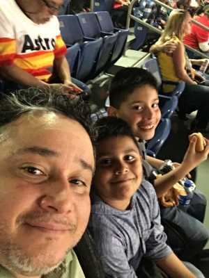 Fabian attended San Antonio Commanders vs. Salt Lake Stallions - AAF on Mar 23rd 2019 via VetTix