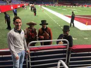 Rodolfo attended San Antonio Commanders vs. Salt Lake Stallions - AAF on Mar 23rd 2019 via VetTix