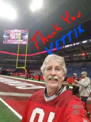 Albert attended San Antonio Commanders vs. Salt Lake Stallions - AAF on Mar 23rd 2019 via VetTix