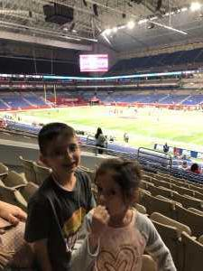 Ronald attended San Antonio Commanders vs. Salt Lake Stallions - AAF on Mar 23rd 2019 via VetTix