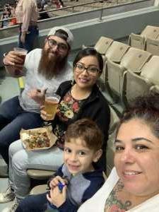 Andreav attended San Antonio Commanders vs. Salt Lake Stallions - AAF on Mar 23rd 2019 via VetTix