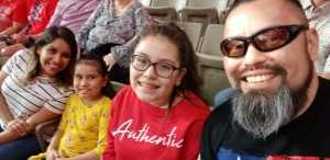 Gustavo attended San Antonio Commanders vs. Salt Lake Stallions - AAF on Mar 23rd 2019 via VetTix