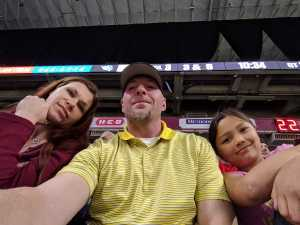 Michael attended San Antonio Commanders vs. Salt Lake Stallions - AAF on Mar 23rd 2019 via VetTix