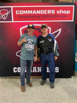 jose a. attended San Antonio Commanders vs. Salt Lake Stallions - AAF on Mar 23rd 2019 via VetTix