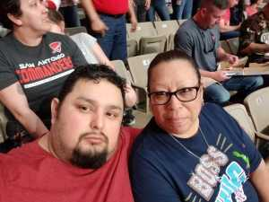 Abel attended San Antonio Commanders vs. Salt Lake Stallions - AAF on Mar 23rd 2019 via VetTix