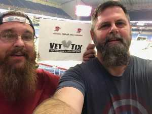 Jerry attended San Antonio Commanders vs. Salt Lake Stallions - AAF on Mar 23rd 2019 via VetTix