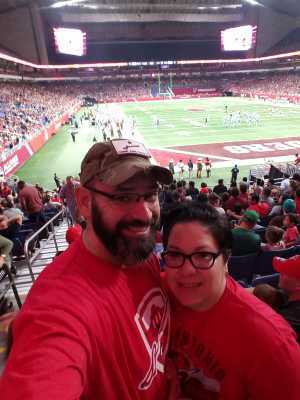 Darrell attended San Antonio Commanders vs. Salt Lake Stallions - AAF on Mar 23rd 2019 via VetTix