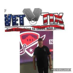 Wallace attended San Antonio Commanders vs. Salt Lake Stallions - AAF on Mar 23rd 2019 via VetTix