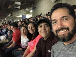 Joseph attended San Antonio Commanders vs. Salt Lake Stallions - AAF on Mar 23rd 2019 via VetTix