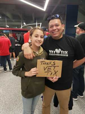 Adrian attended San Antonio Commanders vs. Salt Lake Stallions - AAF on Mar 23rd 2019 via VetTix