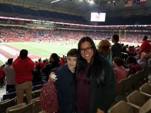 Tom attended San Antonio Commanders vs. Salt Lake Stallions - AAF on Mar 23rd 2019 via VetTix