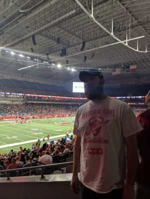 James attended San Antonio Commanders vs. Salt Lake Stallions - AAF on Mar 23rd 2019 via VetTix