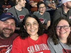 Apryl attended San Antonio Commanders vs. Salt Lake Stallions - AAF on Mar 23rd 2019 via VetTix
