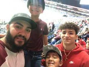 Macario attended San Antonio Commanders vs. Salt Lake Stallions - AAF on Mar 23rd 2019 via VetTix