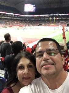 Hector attended San Antonio Commanders vs. Salt Lake Stallions - AAF on Mar 23rd 2019 via VetTix