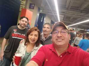 Louis attended San Antonio Commanders vs. Salt Lake Stallions - AAF on Mar 23rd 2019 via VetTix