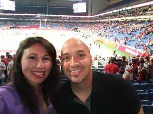 ARACELY attended San Antonio Commanders vs. Salt Lake Stallions - AAF on Mar 23rd 2019 via VetTix