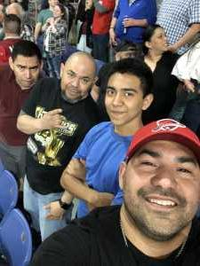 Eli attended San Antonio Commanders vs. Salt Lake Stallions - AAF on Mar 23rd 2019 via VetTix