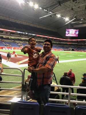 ROBERT attended San Antonio Commanders vs. Salt Lake Stallions - AAF on Mar 23rd 2019 via VetTix