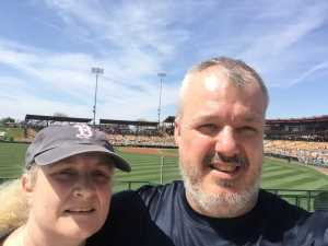 David attended Chicago White Sox vs. Cleveland Indians - MLB - Spring Training on Mar 24th 2019 via VetTix