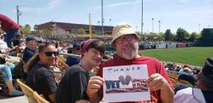Kerry attended Chicago White Sox vs. Cleveland Indians - MLB - Spring Training on Mar 24th 2019 via VetTix
