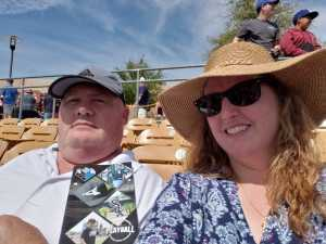 Patrick attended Chicago White Sox vs. Cleveland Indians - MLB - Spring Training on Mar 24th 2019 via VetTix