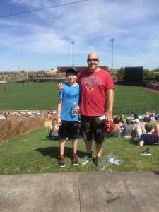 adam attended Chicago White Sox vs. Cleveland Indians - MLB - Spring Training on Mar 24th 2019 via VetTix
