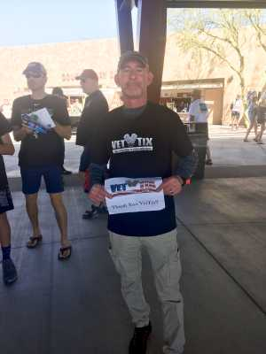 Jamie attended Chicago White Sox vs. Cleveland Indians - MLB - Spring Training on Mar 24th 2019 via VetTix