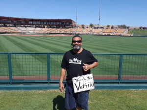jeffery attended Chicago White Sox vs. Cleveland Indians - MLB - Spring Training on Mar 24th 2019 via VetTix