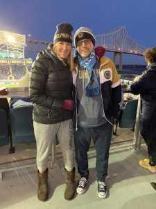 Tammy attended Philadelphia Union vs Columbus Crew SC - MLS on Mar 23rd 2019 via VetTix