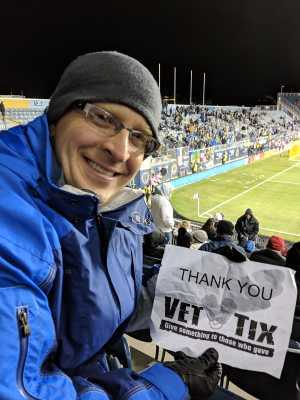 William attended Philadelphia Union vs Columbus Crew SC - MLS on Mar 23rd 2019 via VetTix