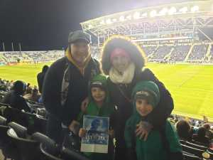 Dan attended Philadelphia Union vs Columbus Crew SC - MLS on Mar 23rd 2019 via VetTix