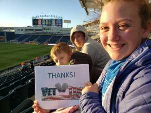 Edward attended Philadelphia Union vs Columbus Crew SC - MLS on Mar 23rd 2019 via VetTix