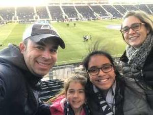 Jeremy attended Philadelphia Union vs Columbus Crew SC - MLS on Mar 23rd 2019 via VetTix