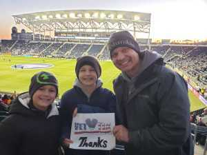 Jason attended Philadelphia Union vs Columbus Crew SC - MLS on Mar 23rd 2019 via VetTix