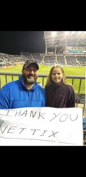 Scott attended Philadelphia Union vs Columbus Crew SC - MLS on Mar 23rd 2019 via VetTix