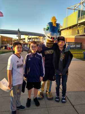 Roger attended Philadelphia Union vs Columbus Crew SC - MLS on Mar 23rd 2019 via VetTix