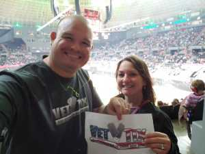 Josef attended Toughest Monster Truck Tour on Mar 23rd 2019 via VetTix