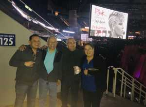joe attended P! Nk With Special Guest Julia Michaels on Mar 19th 2019 via VetTix