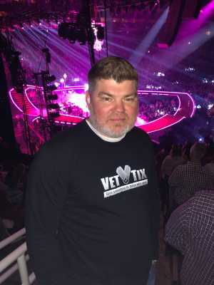 Mark attended P! Nk With Special Guest Julia Michaels on Mar 19th 2019 via VetTix