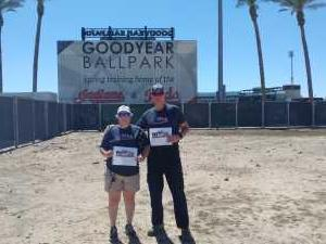 Andrew attended Cleveland Indians vs. San Diego Padres - MLB Spring Training on Mar 23rd 2019 via VetTix