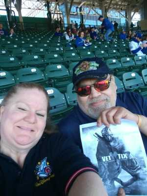 Art attended Chicago Cubs vs. Arizona Diamondbacks - MLB on Apr 21st 2019 via VetTix