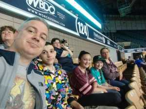 Adam attended Massachusetts Pirates vs. Carolina Cobras - NAL on Apr 13th 2019 via VetTix