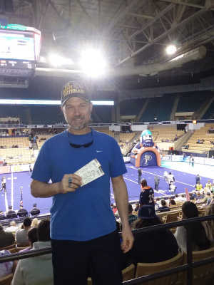 Michael attended Massachusetts Pirates vs. Carolina Cobras - NAL on Apr 13th 2019 via VetTix