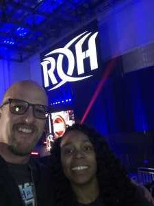 Robert attended Ring of Honor Wrestling Presents Road to G1 Supercard on Mar 31st 2019 via VetTix