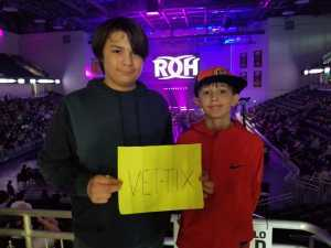 Adam attended Ring of Honor Wrestling Presents Road to G1 Supercard on Mar 31st 2019 via VetTix