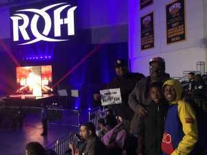 Orlando attended Ring of Honor Wrestling Presents Road to G1 Supercard on Mar 31st 2019 via VetTix