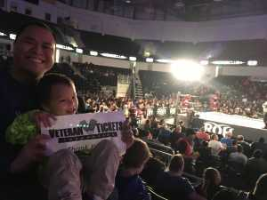 Ian attended Ring of Honor Wrestling Presents Road to G1 Supercard on Mar 31st 2019 via VetTix